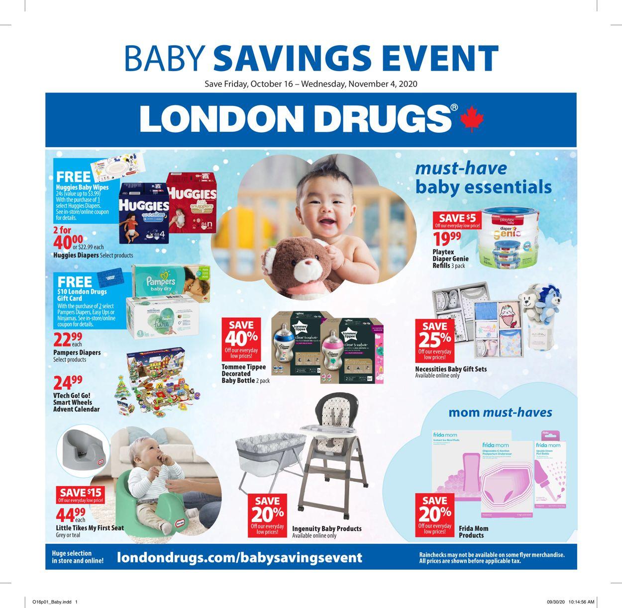 London Drugs Flyer - 10/16-11/04/2020