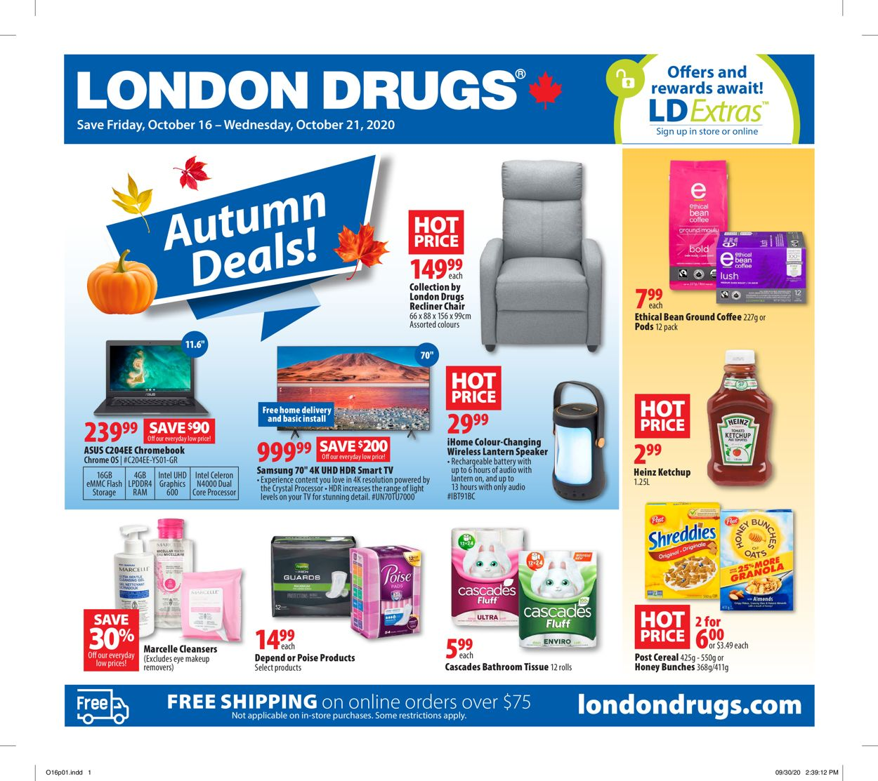 London Drugs Flyer - 10/16-10/21/2020
