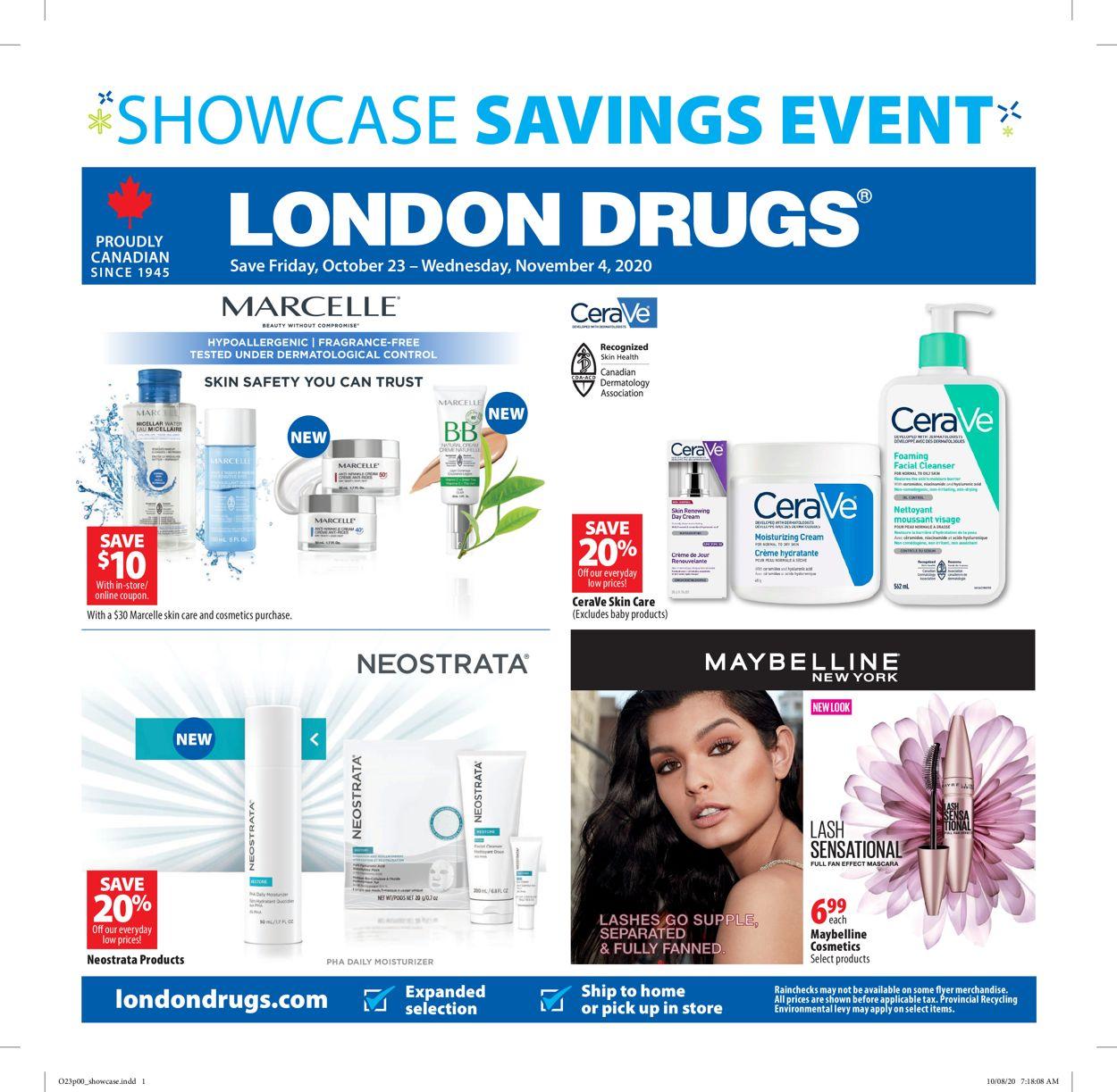 London Drugs Flyer - 10/23-11/04/2020