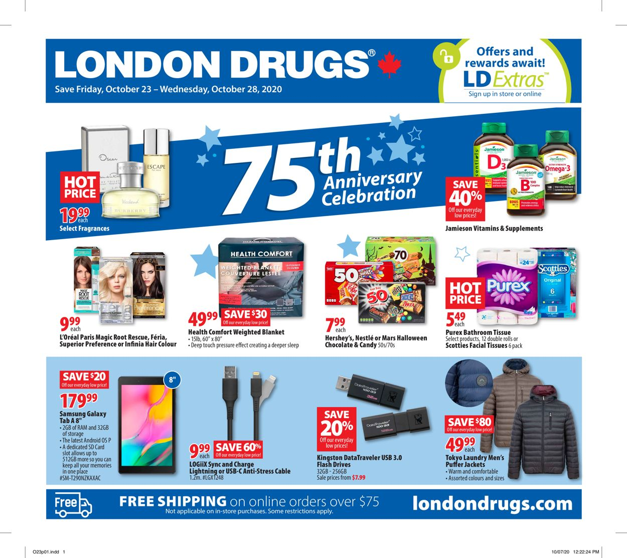 London Drugs Flyer - 10/23-10/28/2020