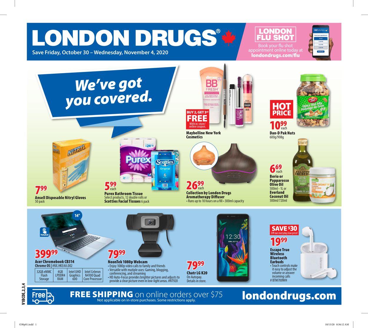 London Drugs Flyer - 10/30-11/04/2020