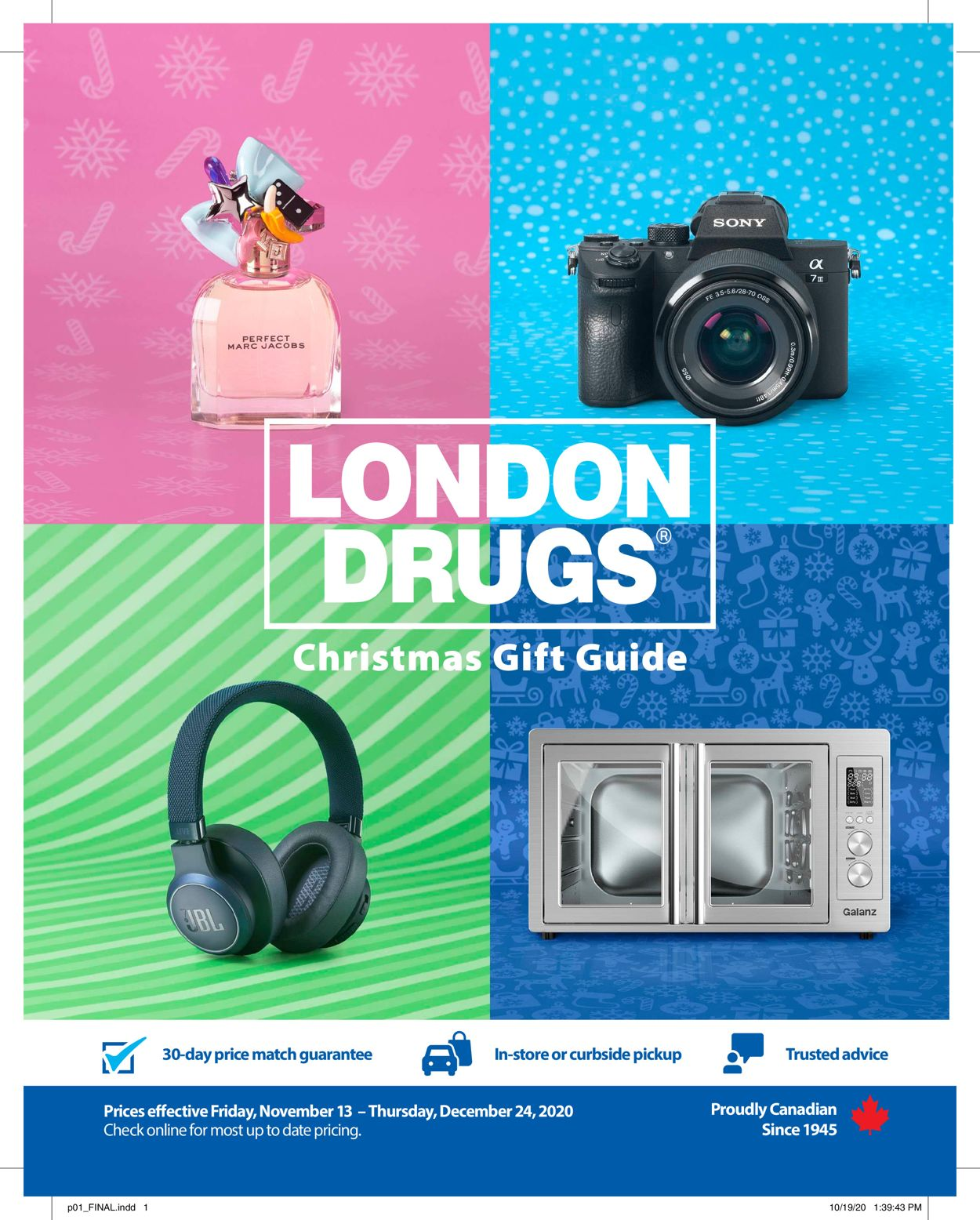 London Drugs Holiday 2020 Flyer - 11/13-12/24/2020