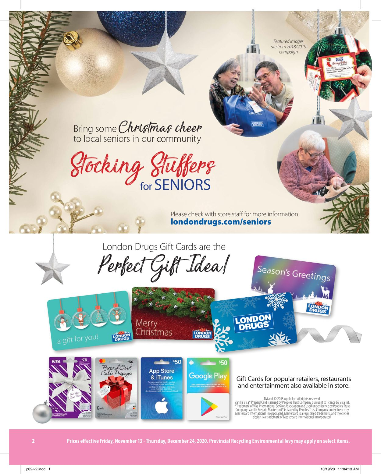 London Drugs Holiday 2020 Flyer - 11/13-12/24/2020 (Page 2)