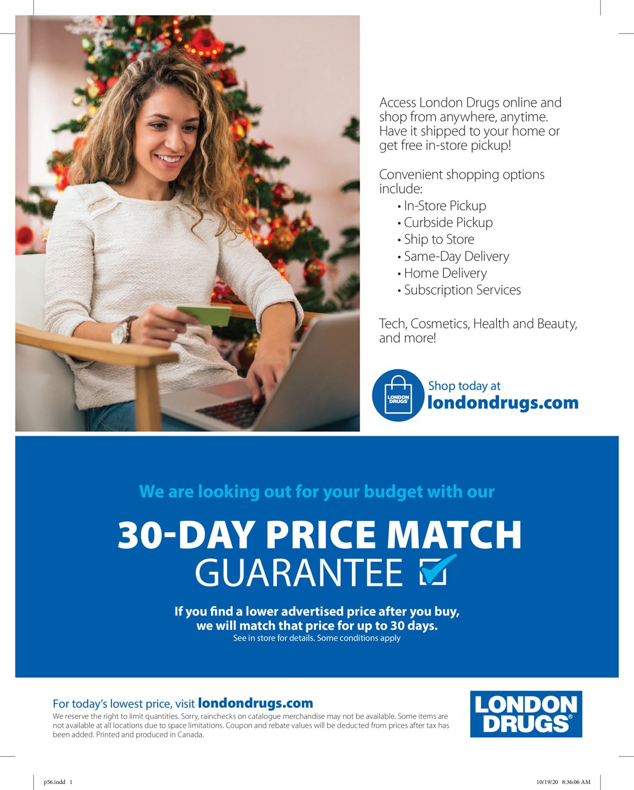 London Drugs Holiday 2020 Flyer - 11/13-12/24/2020 (Page 56)