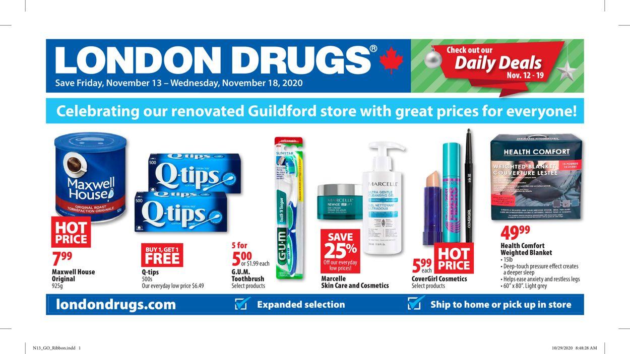 London Drugs Flyer - 11/13-11/18/2020