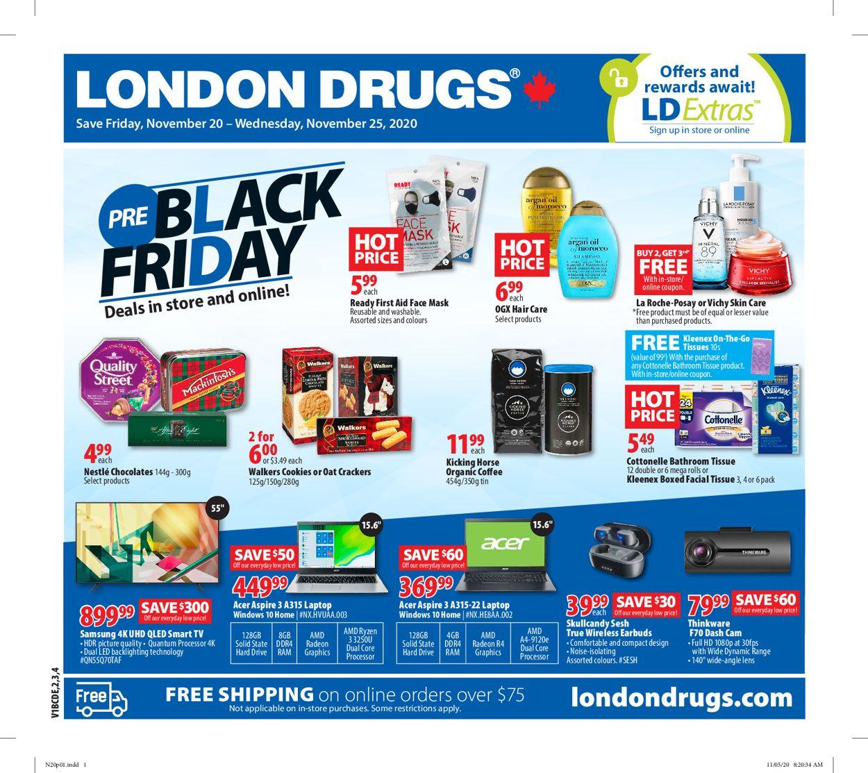 London Drugs - Black Friday 2020 Flyer - 11/20-11/25/2020