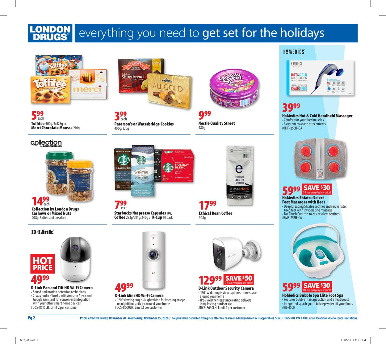 London Drugs - Black Friday 2020 Flyer - 11/20-11/25/2020 (Page 3)