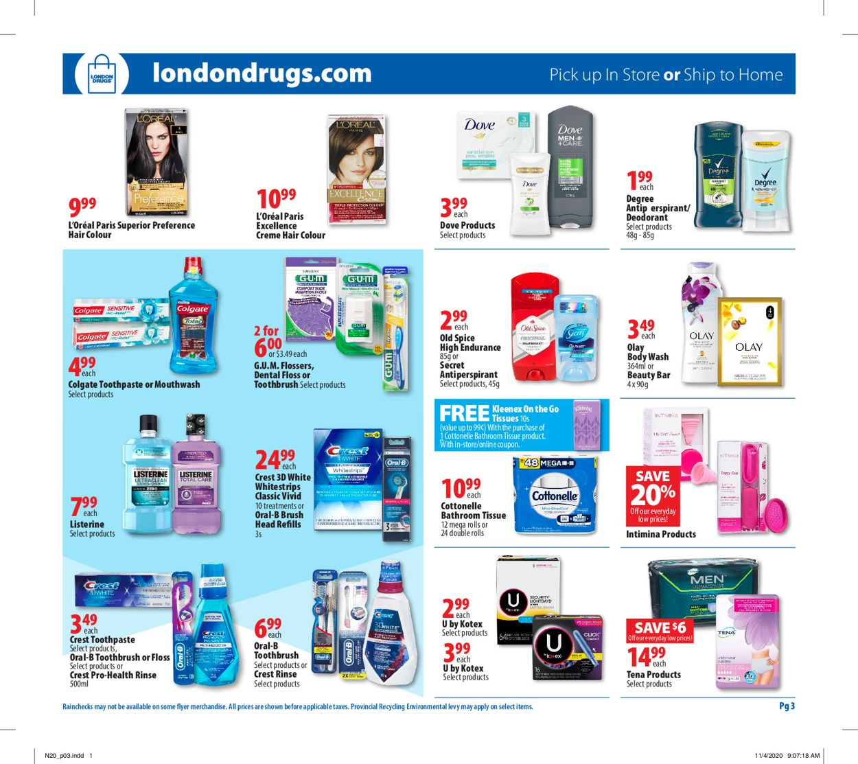 London Drugs - Black Friday 2020 Flyer - 11/20-11/25/2020 (Page 4)