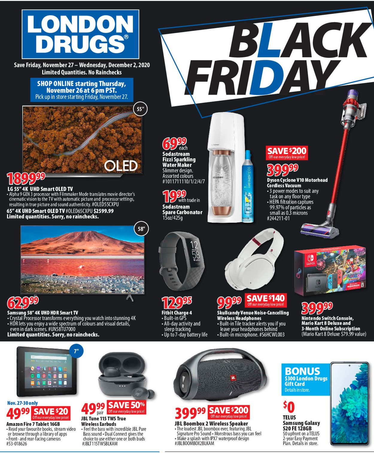 London Drugs - Black Friday 2020 Flyer - 11/26-12/02/2020