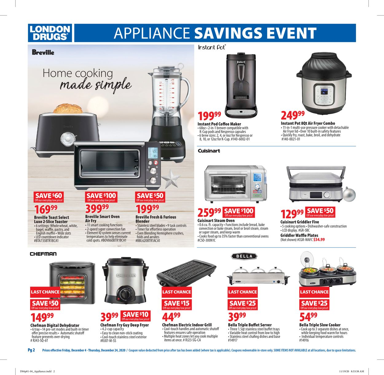 London Drugs - Holiday 2020 Flyer - 12/04-12/24/2020 (Page 2)