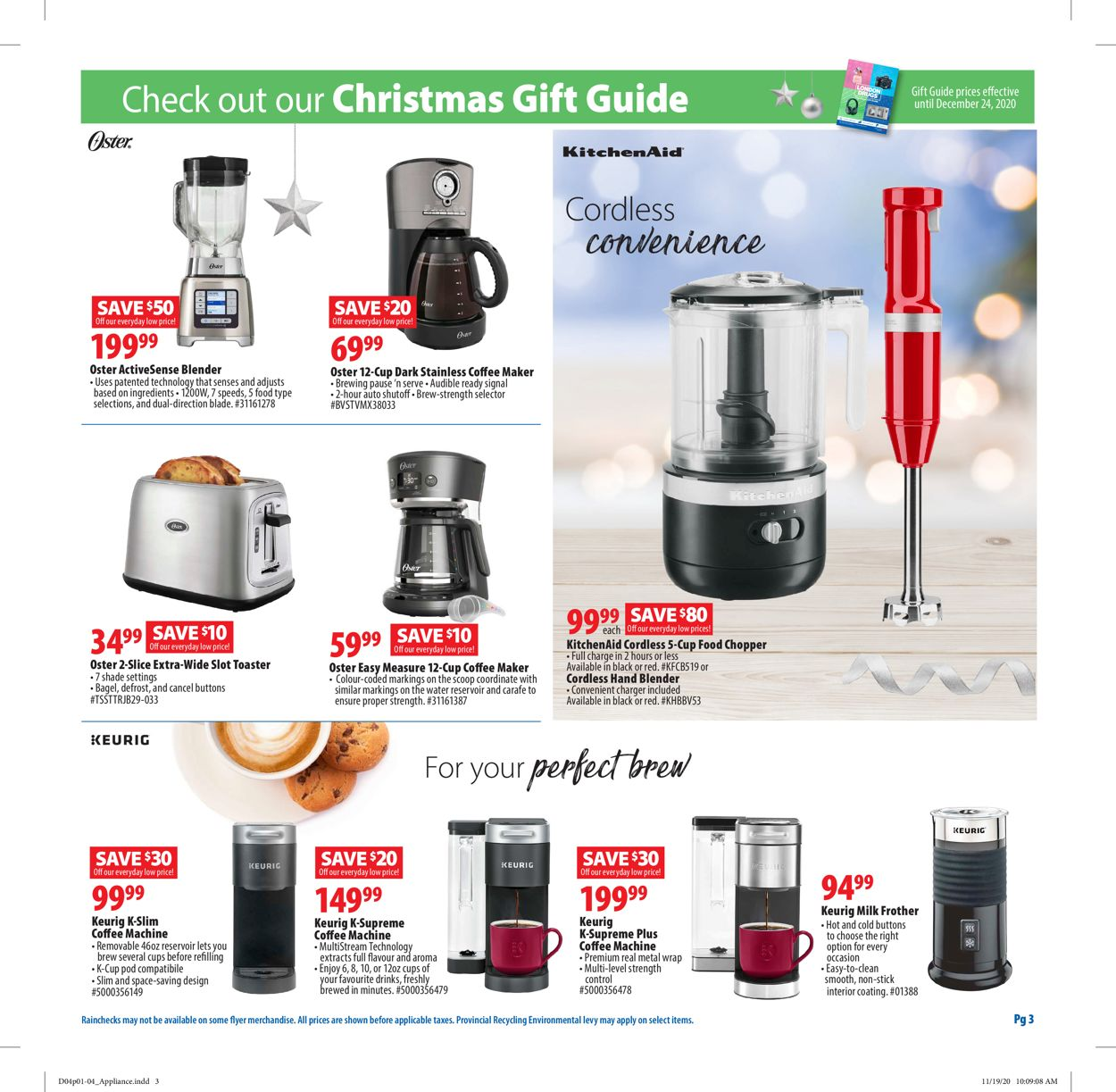 London Drugs - Holiday 2020 Flyer - 12/04-12/24/2020 (Page 3)