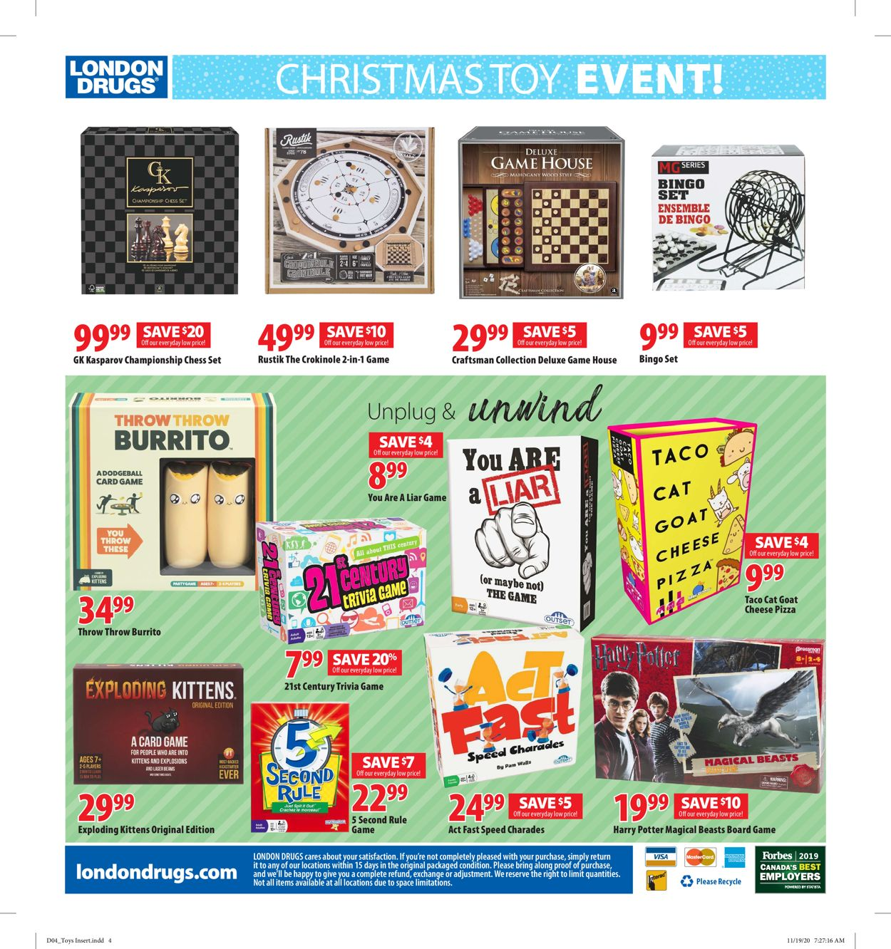 London Drugs - Holiday 2020 Flyer - 12/04-12/24/2020 (Page 5)