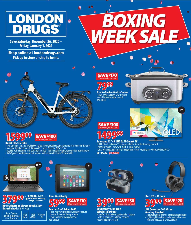 London Drugs Boxing Week Sale Flyer - 12/26-01/01/2021
