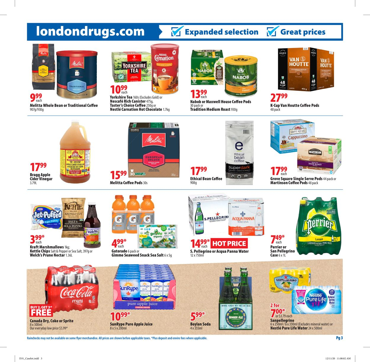 London Drugs Flyer - 12/31-01/20/2021 (Page 3)