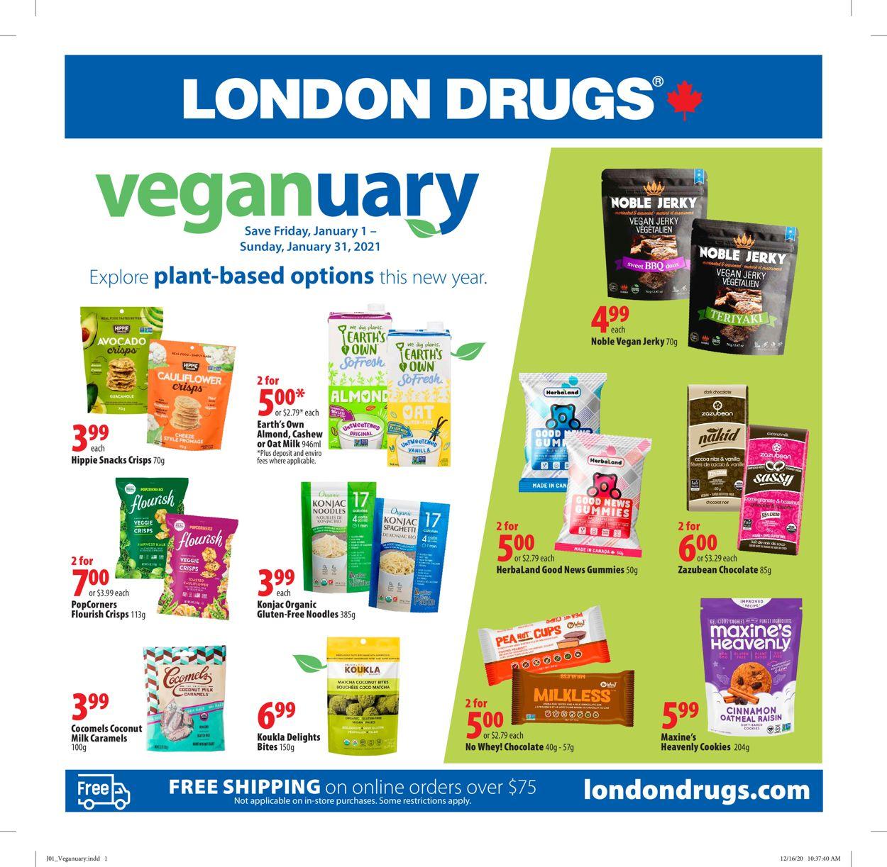 London Drugs Flyer - 01/01-01/31/2021