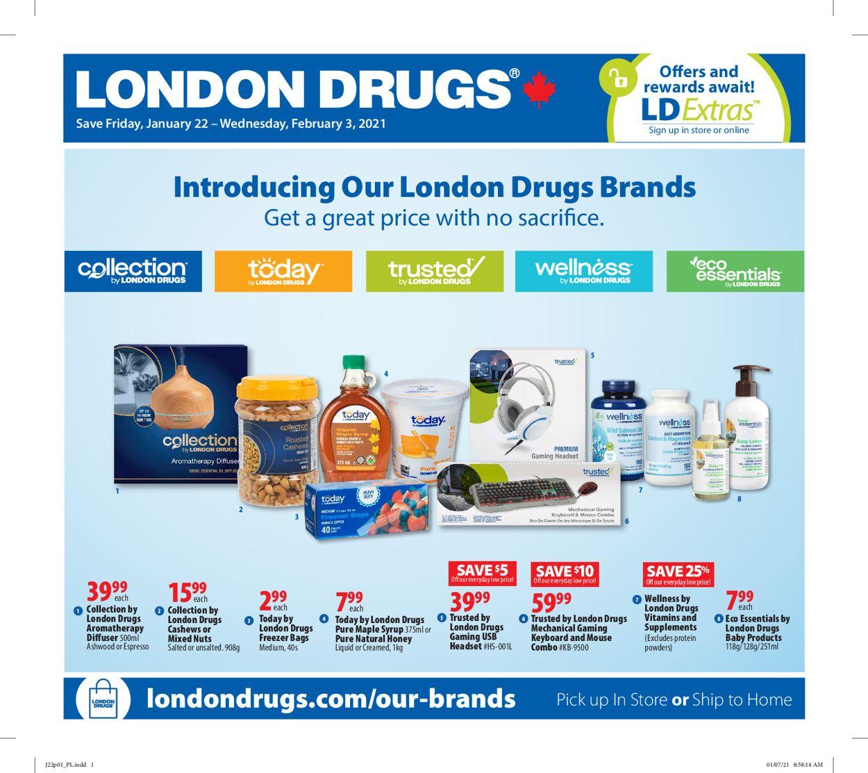 London Drugs Flyer - 01/22-02/03/2021
