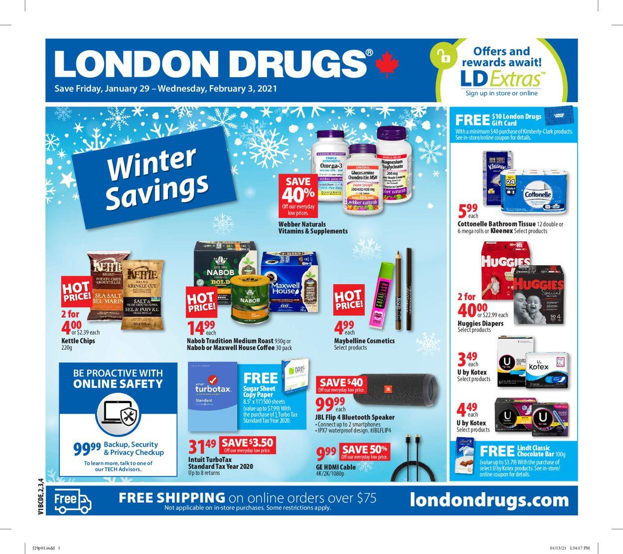 London Drugs Flyer - 01/29-02/03/2021