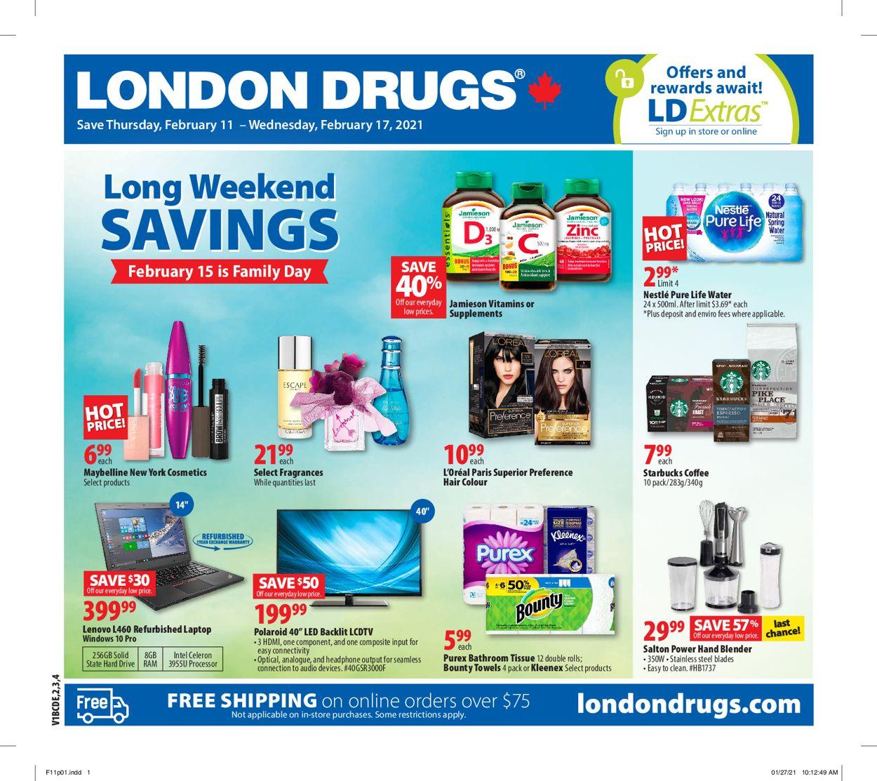 London Drugs Flyer - 02/11-02/17/2021