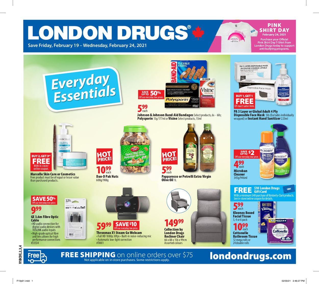 London Drugs Flyer - 02/19-02/24/2021