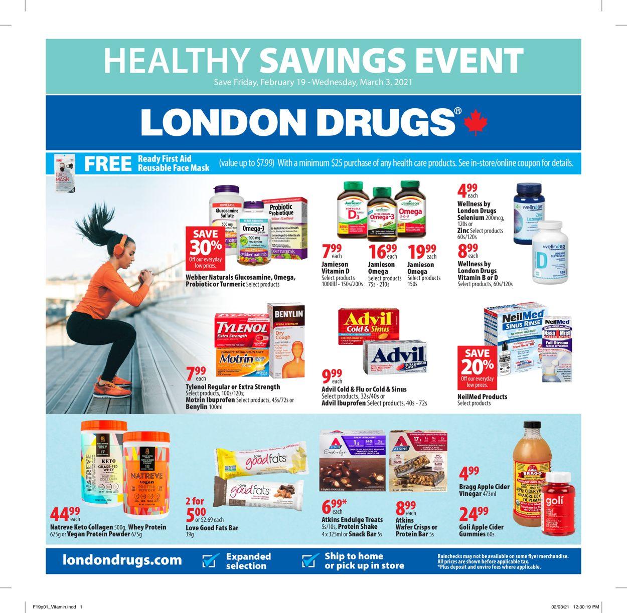 London Drugs Flyer - 02/19-03/03/2021