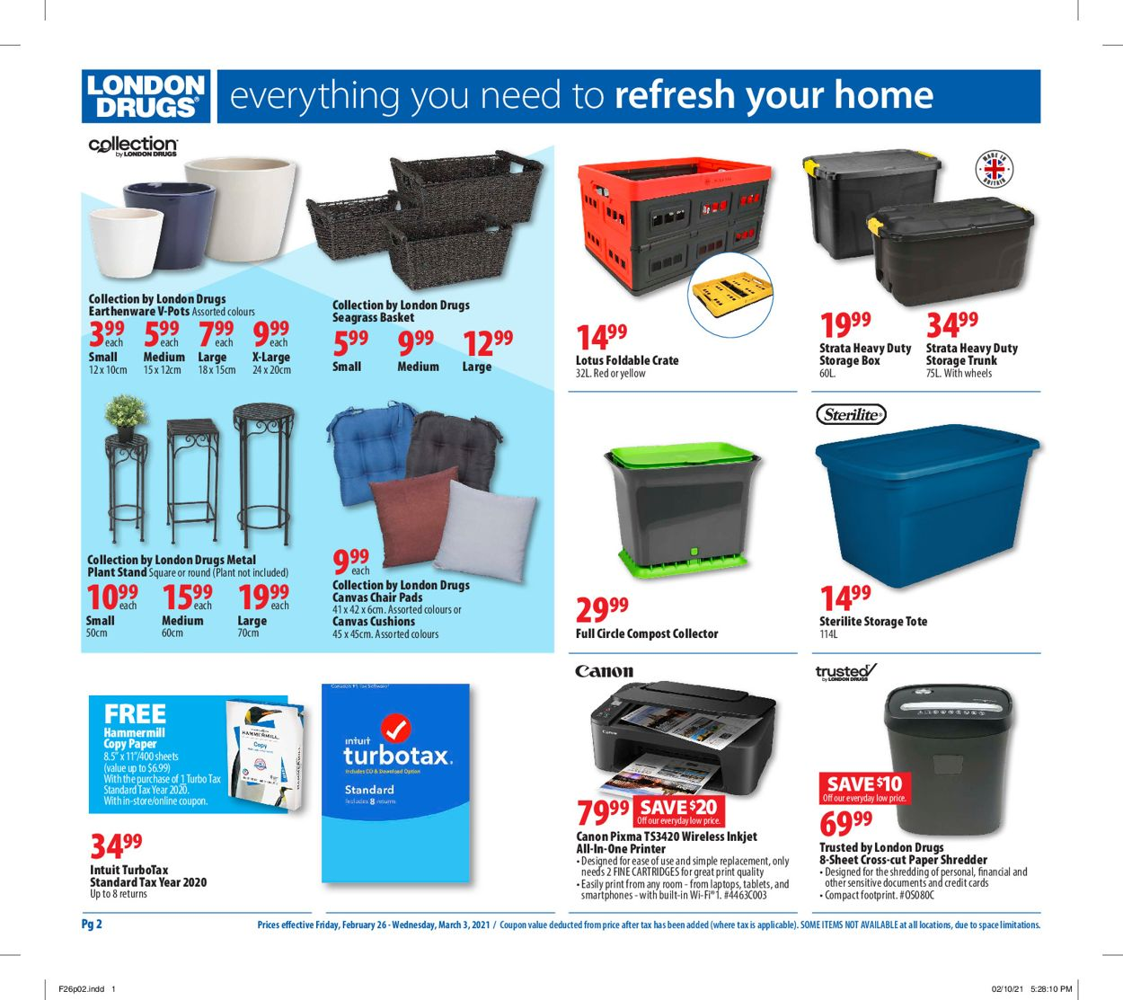 London Drugs Flyer - 02/26-03/03/2021 (Page 2)