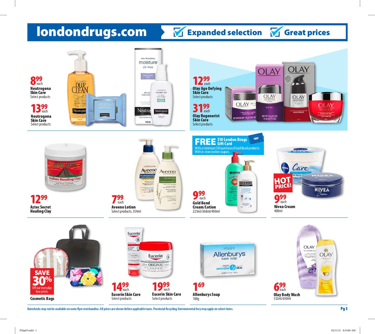 London Drugs Flyer - 02/26-03/03/2021 (Page 3)