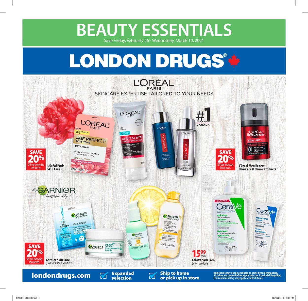 London Drugs Flyer - 02/26-03/10/2021