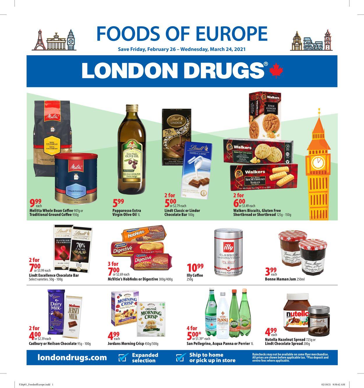 London Drugs Flyer - 02/26-03/24/2021