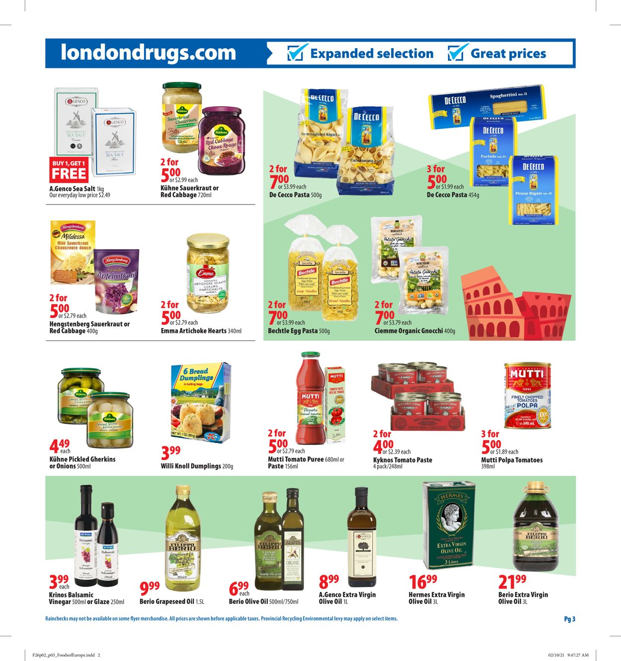 London Drugs Flyer - 02/26-03/24/2021 (Page 3)