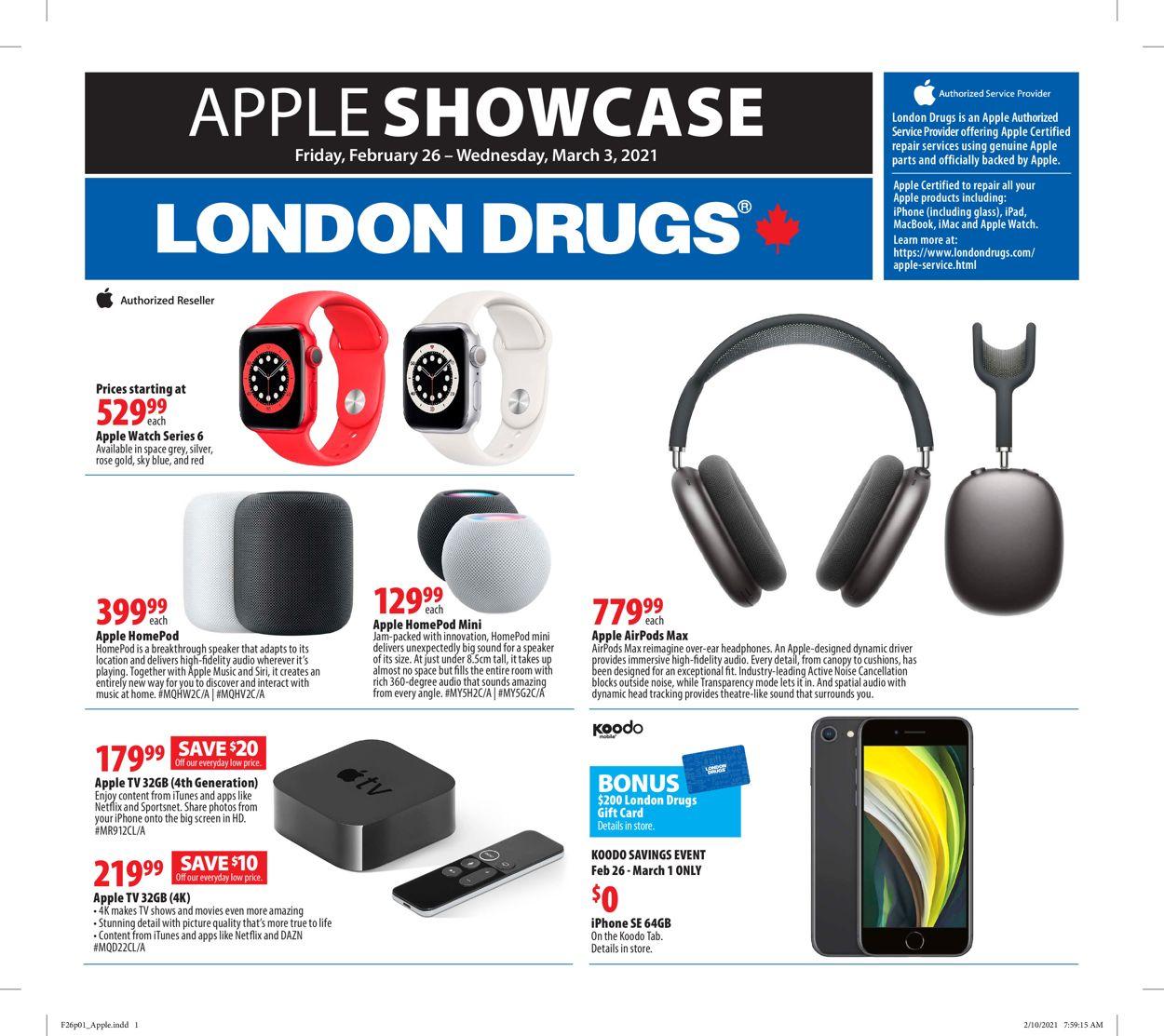 London Drugs Flyer - 02/26-03/03/2021