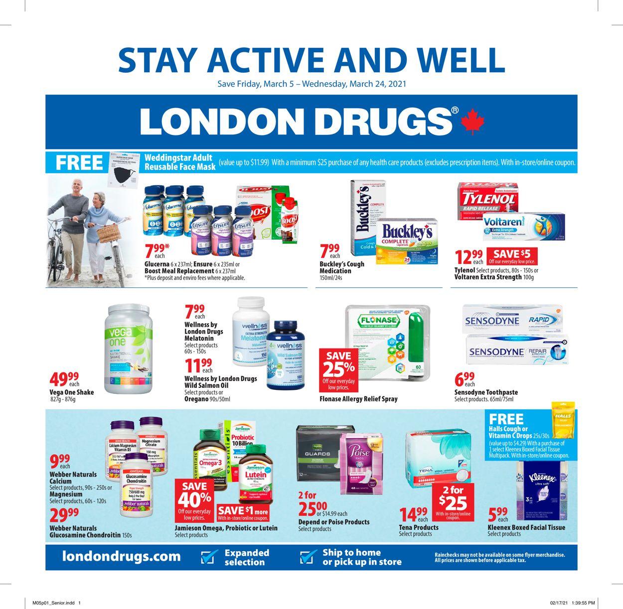 London Drugs Flyer - 03/05-03/24/2021
