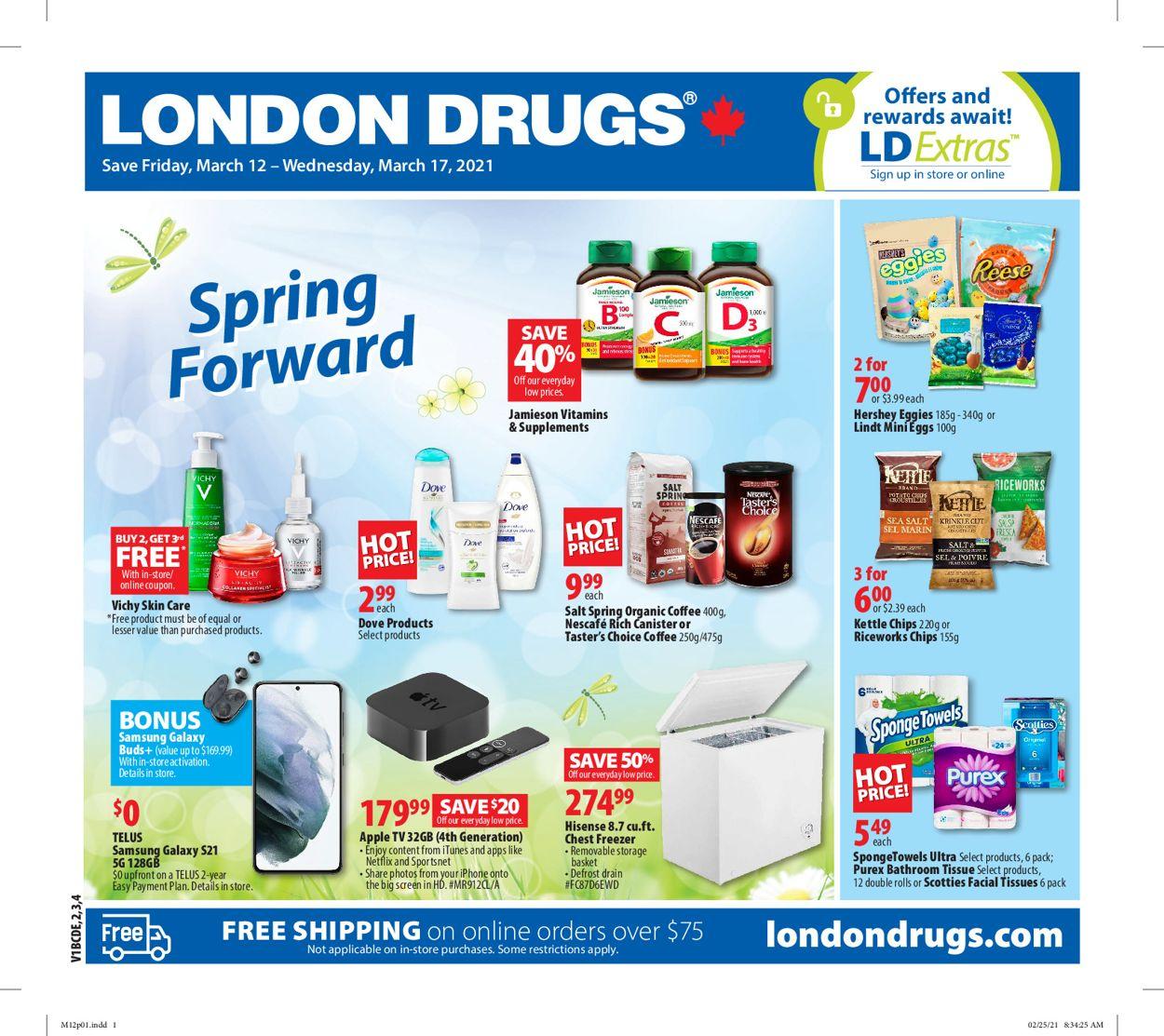 London Drugs Flyer - 03/12-03/17/2021
