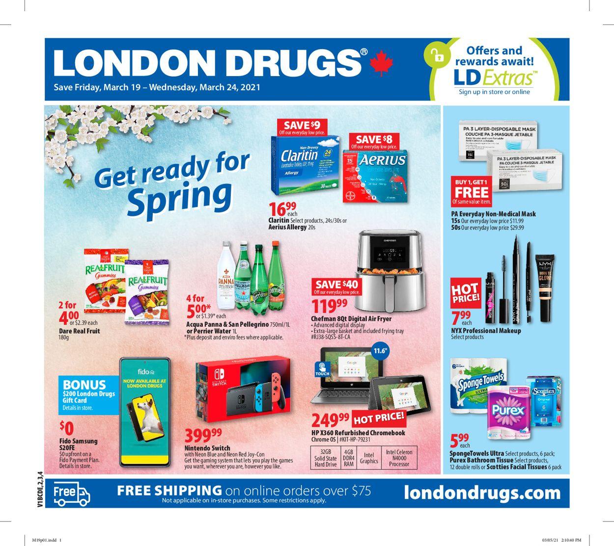 London Drugs Flyer - 03/19-03/24/2021