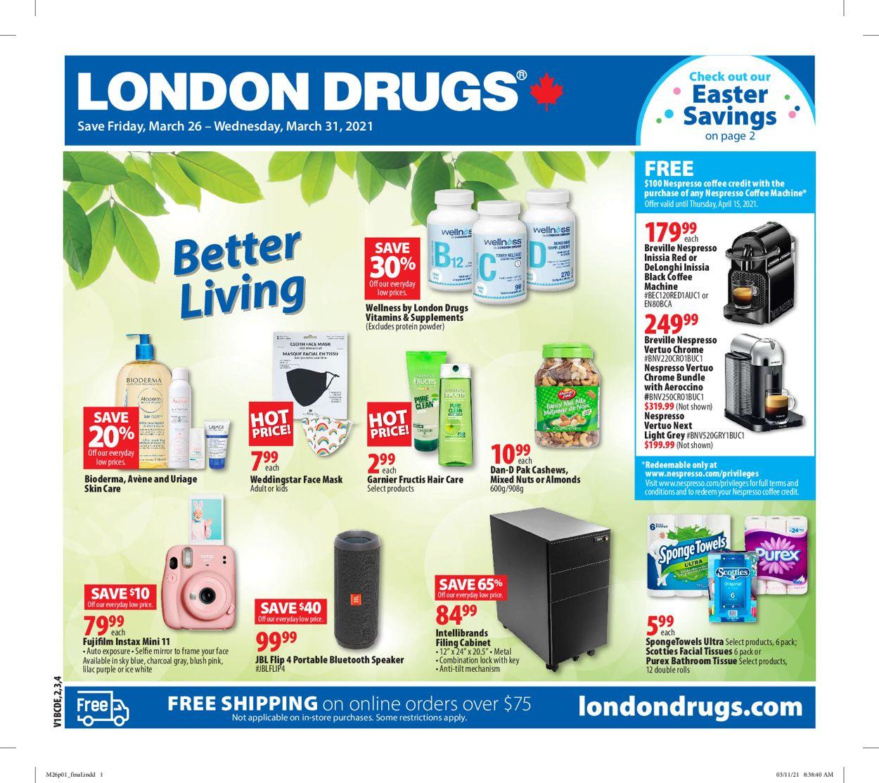 London Drugs Flyer - 03/26-03/31/2021