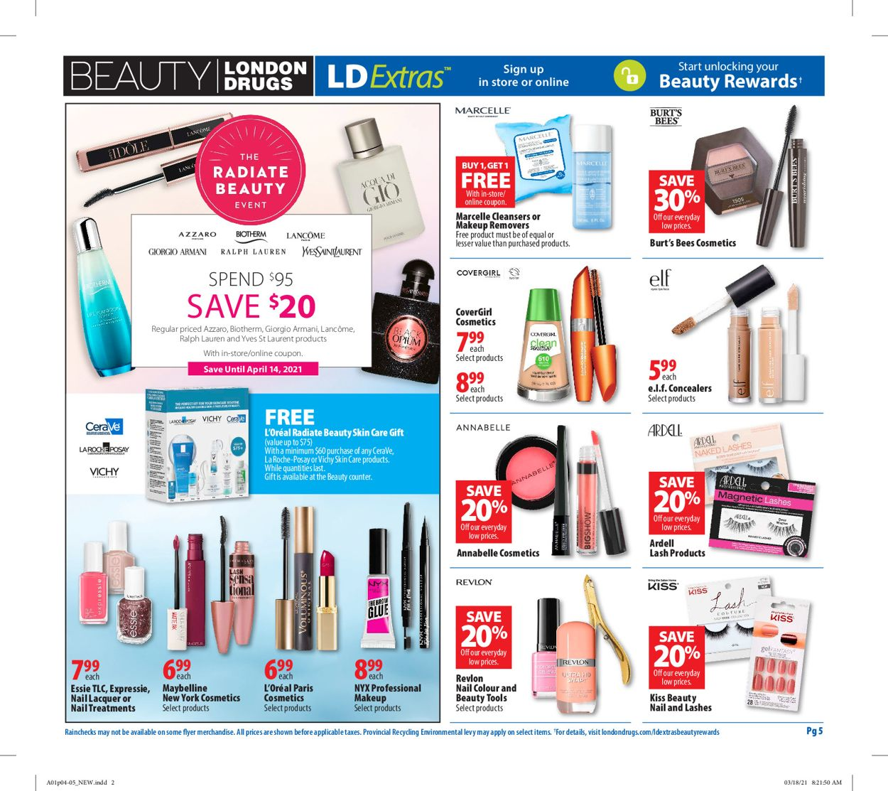 London Drugs Flyer - 04/01-04/07/2021 (Page 6)