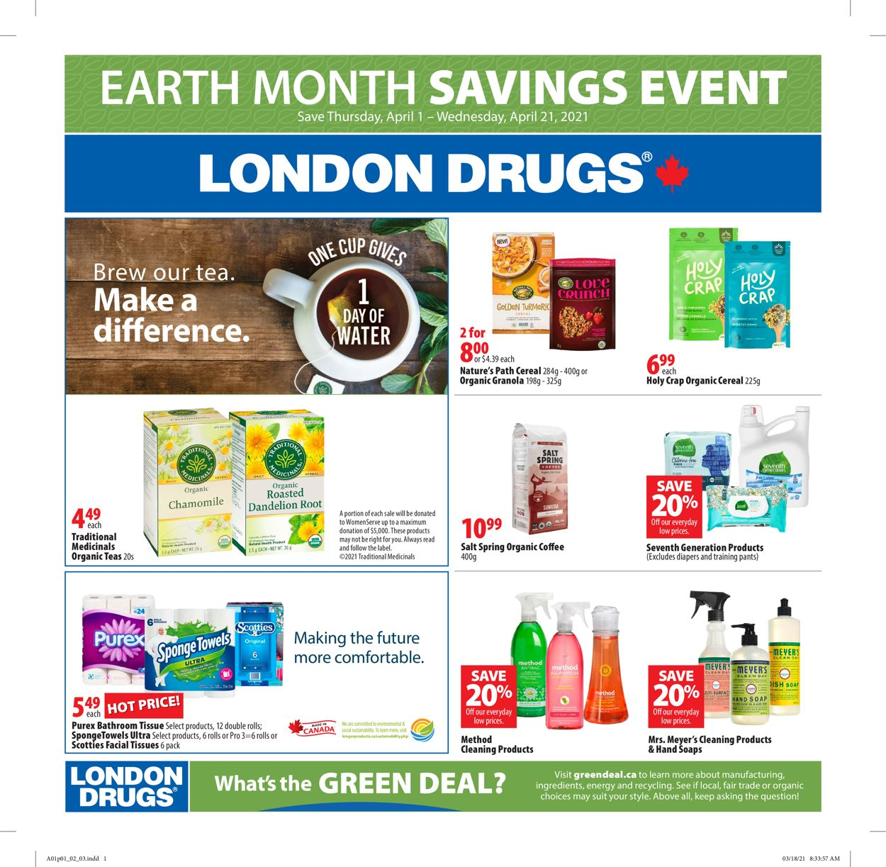 London Drugs Flyer - 04/01-04/21/2021