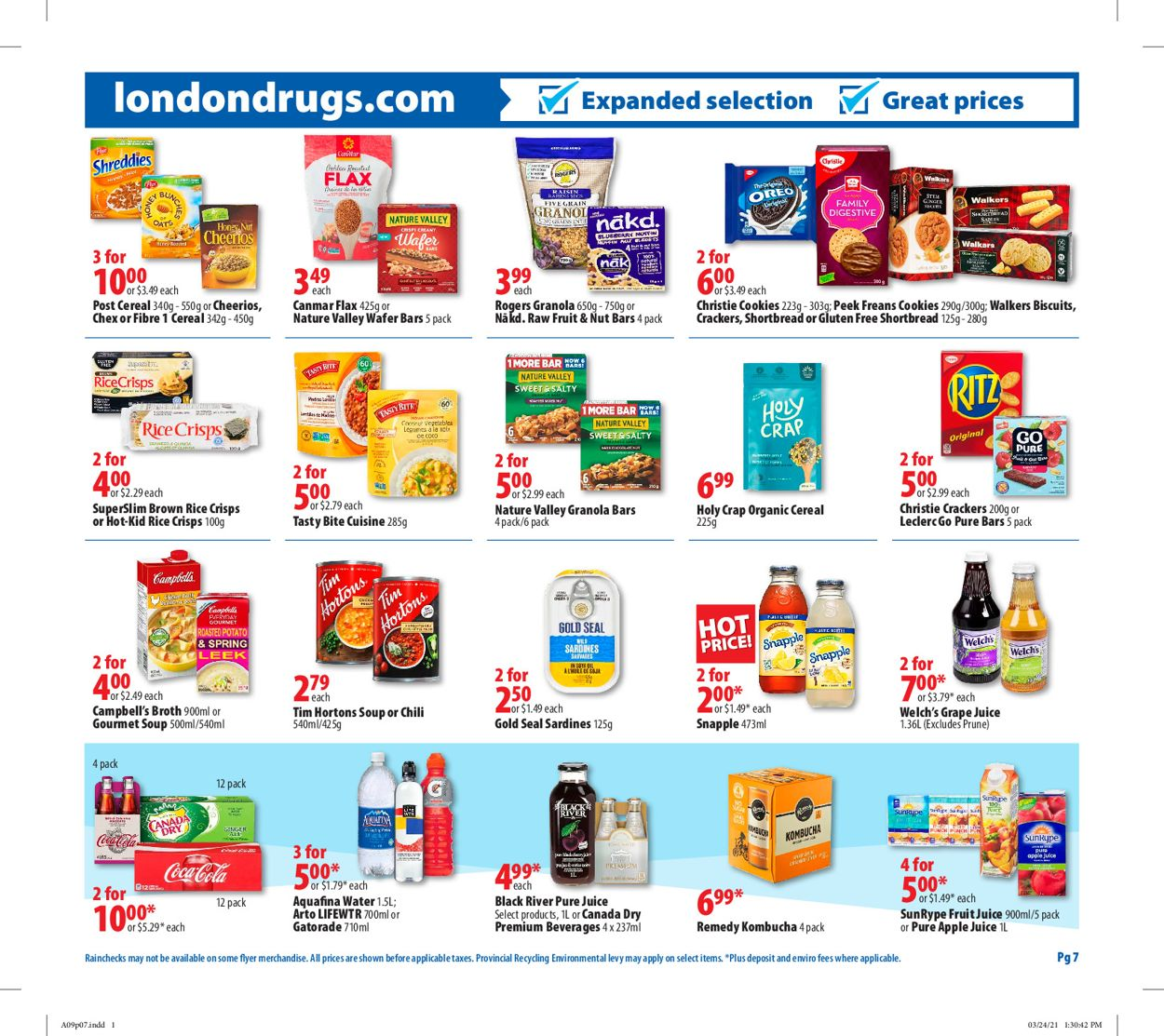 London Drugs Flyer - 04/09-04/14/2021 (Page 8)