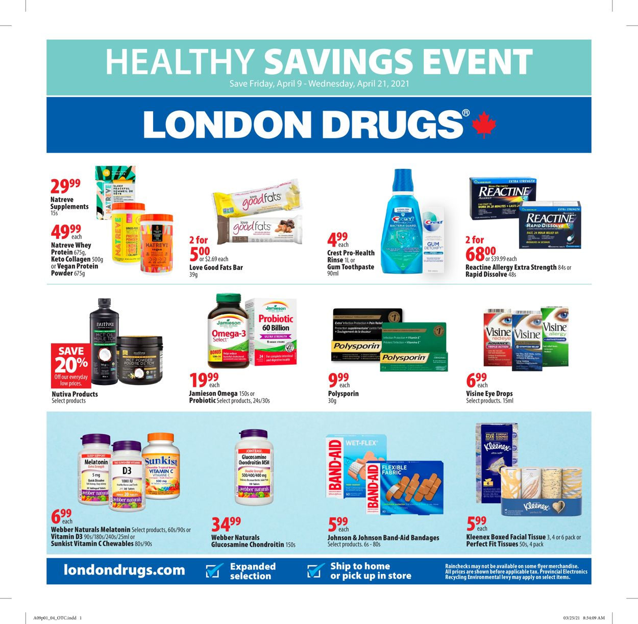 London Drugs Flyer - 04/09-04/21/2021