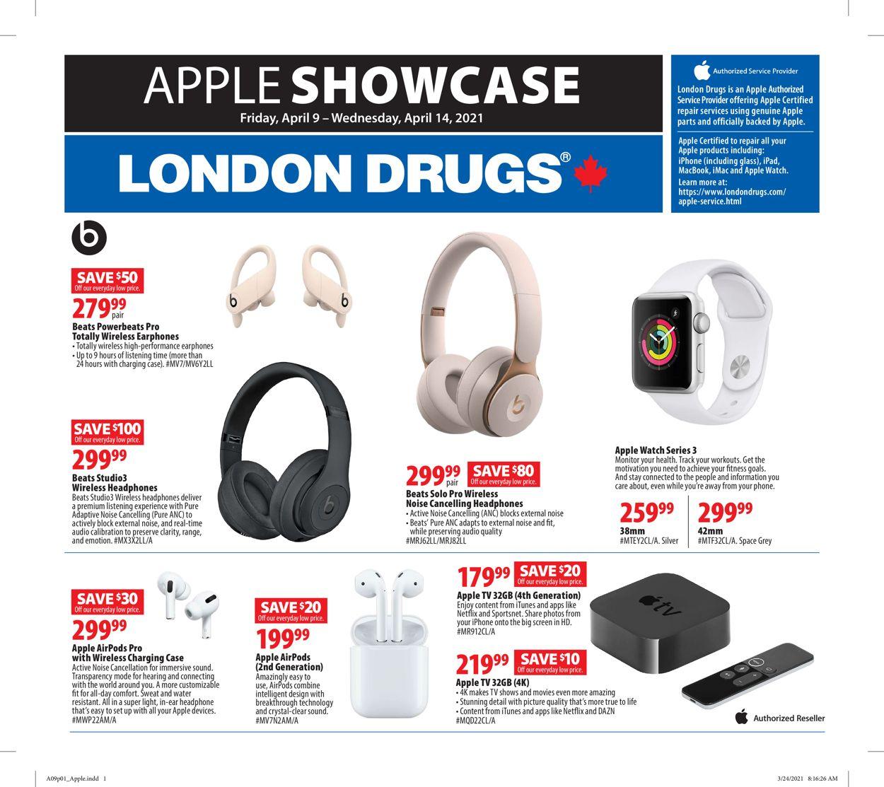 London Drugs Flyer - 04/09-04/14/2021