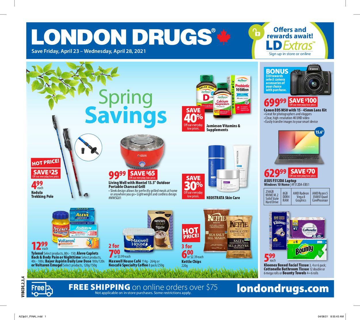 London Drugs Flyer - 04/23-04/28/2021