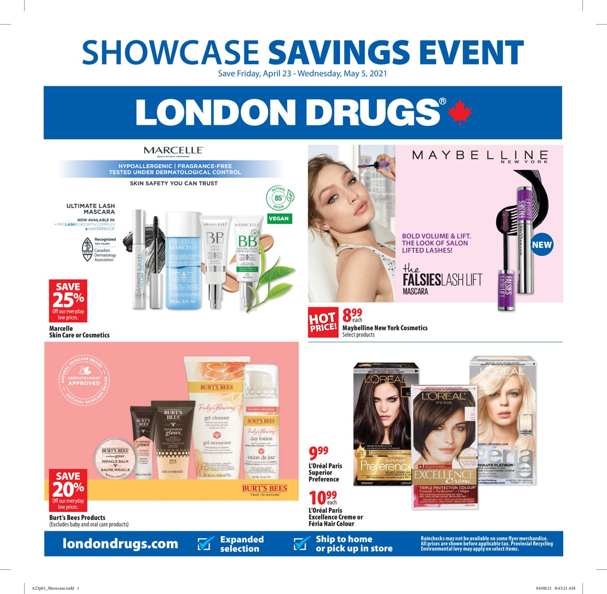London Drugs Flyer - 04/23-05/05/2021