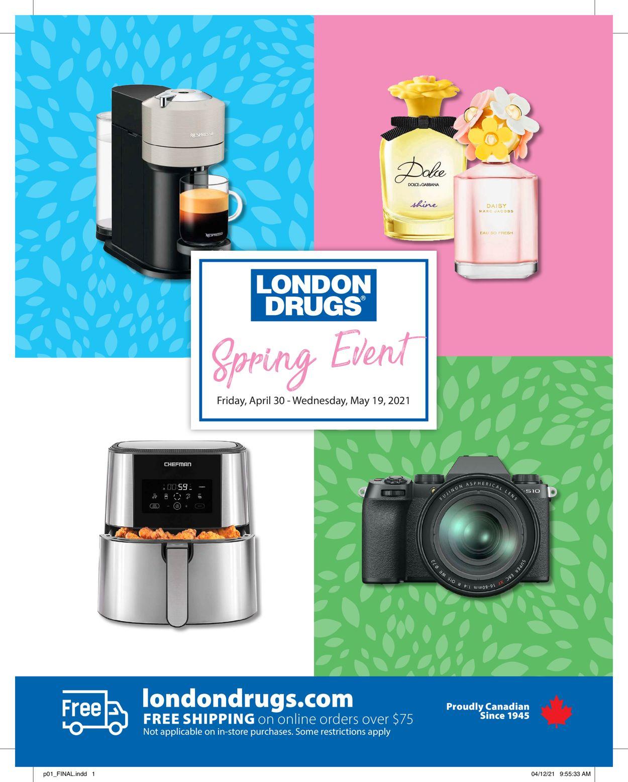 London Drugs Flyer - 04/30-05/19/2021