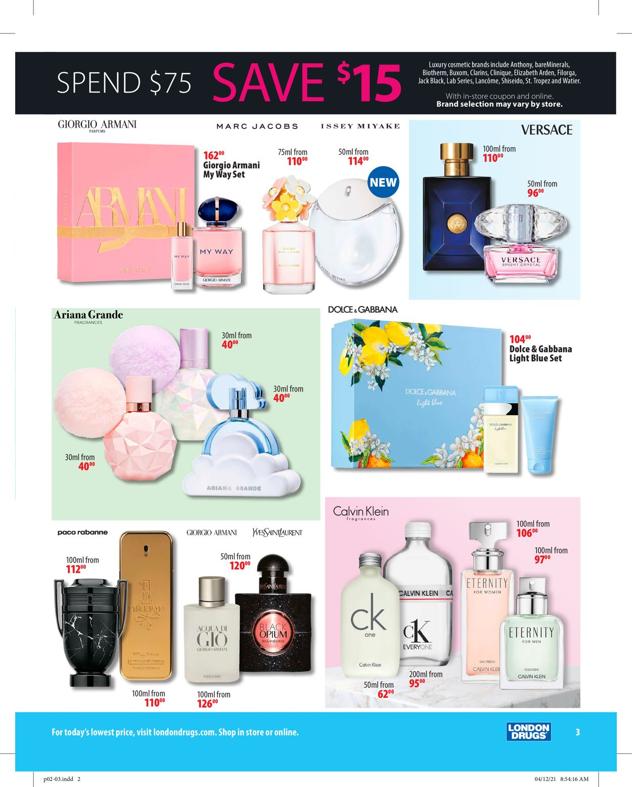 London Drugs Flyer - 04/30-05/19/2021 (Page 3)
