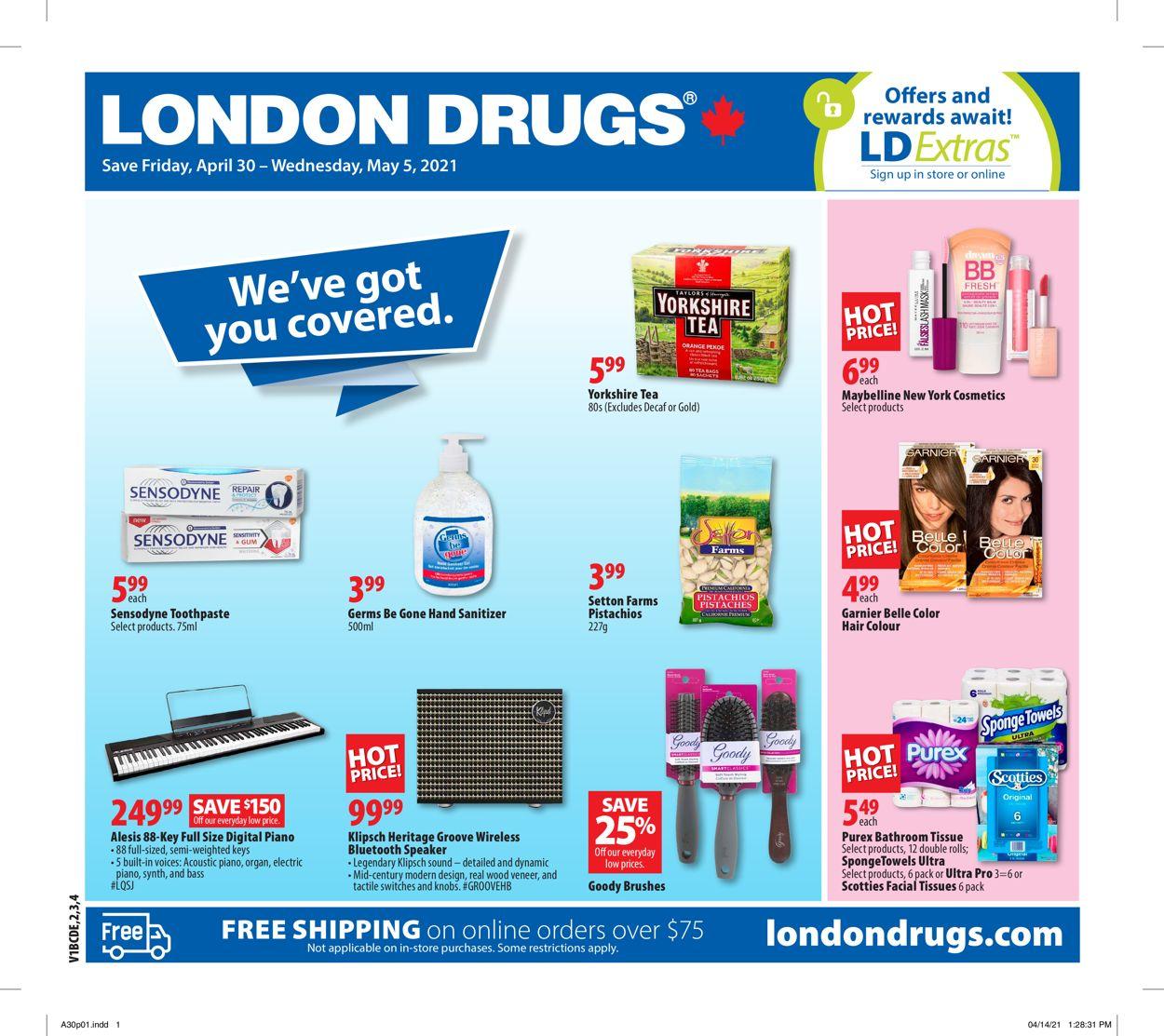 London Drugs Flyer - 04/30-05/05/2021
