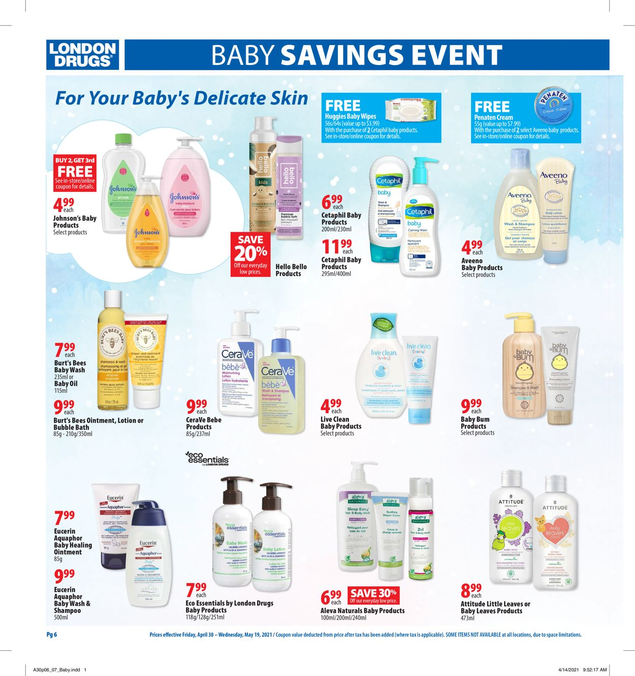London Drugs Flyer - 04/30-05/19/2021 (Page 6)