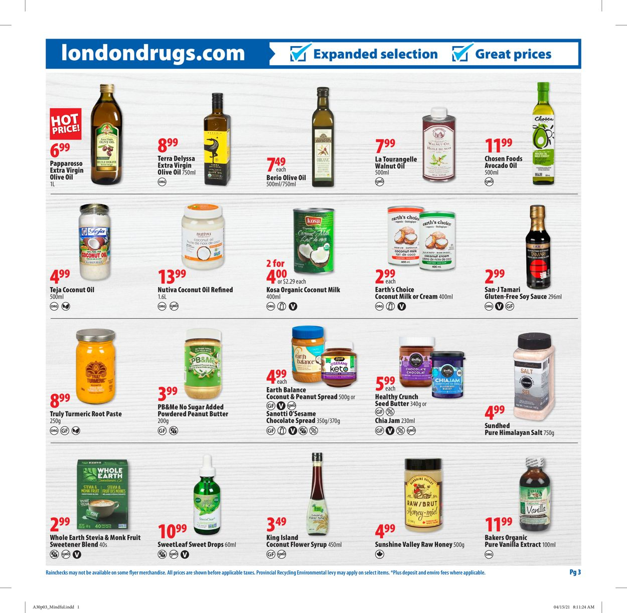 London Drugs Flyer - 04/30-05/26/2021 (Page 3)