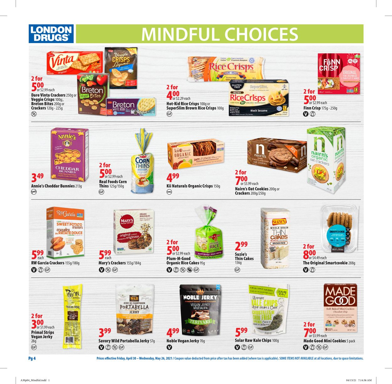London Drugs Flyer - 04/30-05/26/2021 (Page 4)