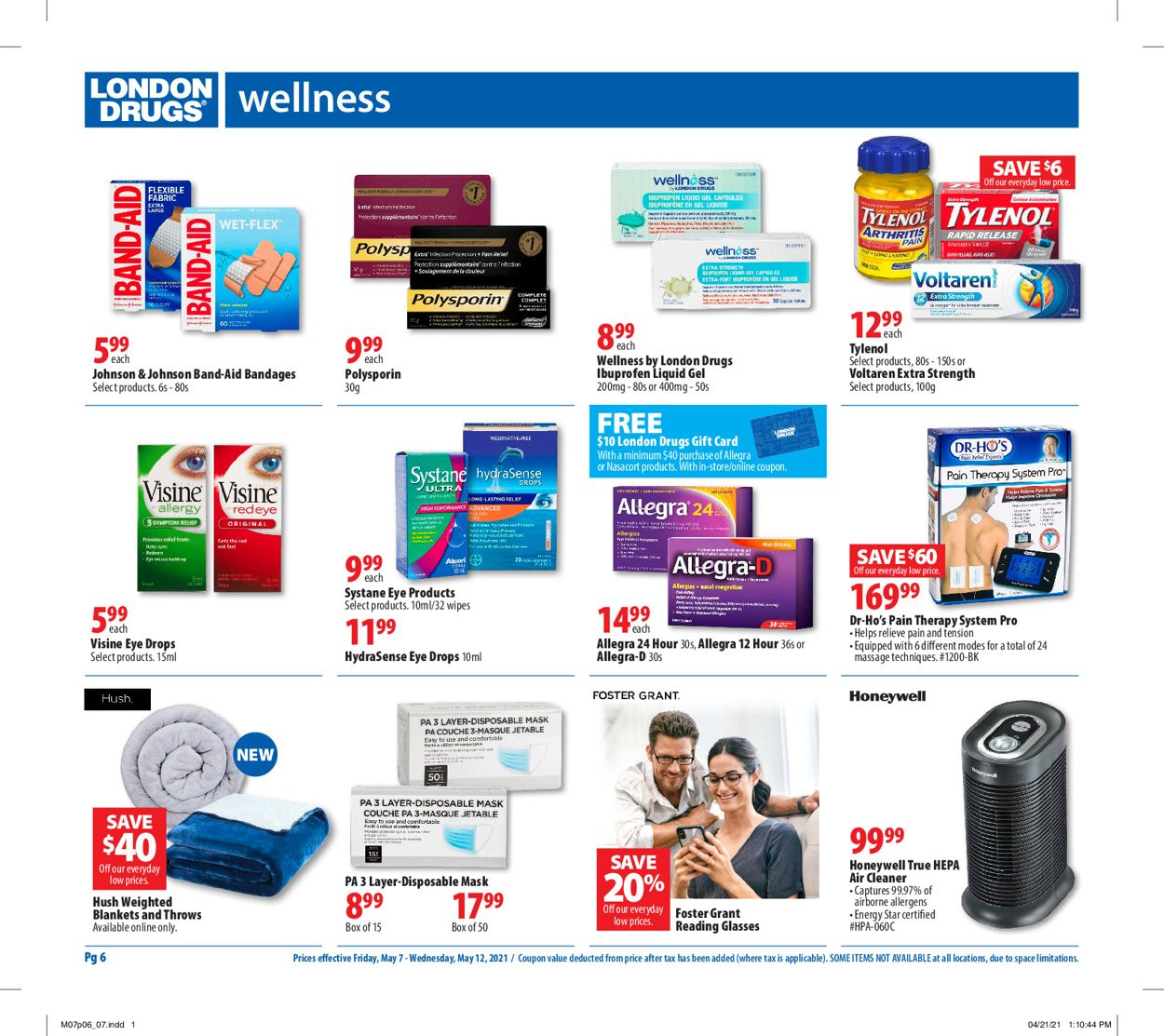 London Drugs Flyer - 05/07-05/12/2021 (Page 7)