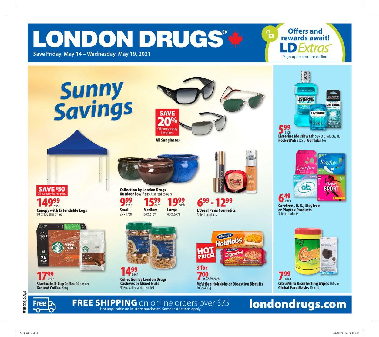London Drugs Flyer - 05/14-05/19/2021