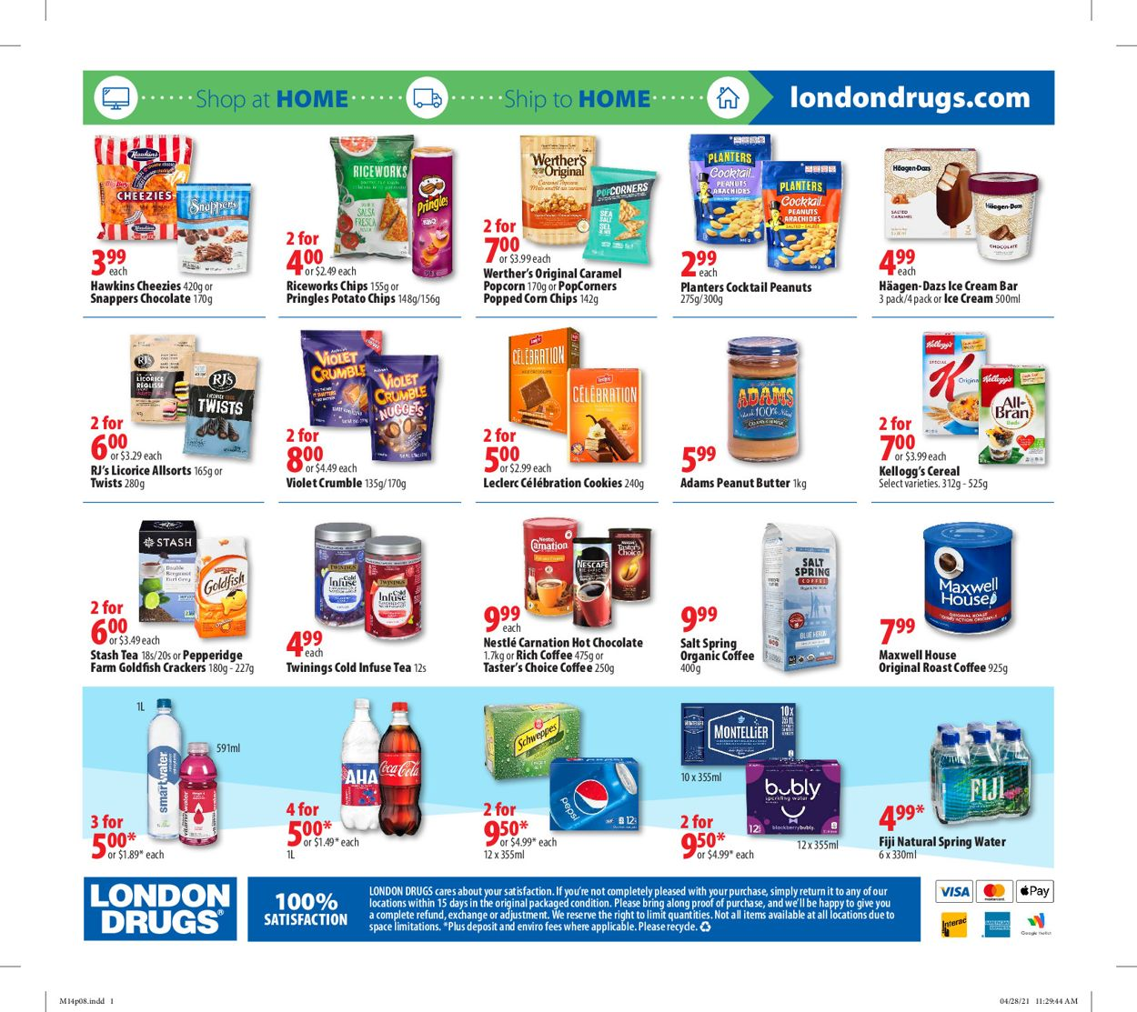 London Drugs Flyer - 05/14-05/19/2021 (Page 8)